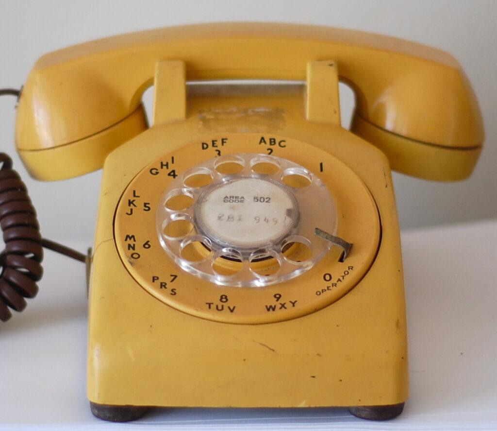 Billede af telefon til at ringe til privathospitaler i Danmark.